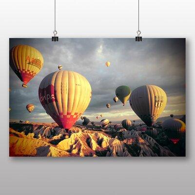 Big Box Art Hot Air Balloon No.1 Photographic Print on Canvas