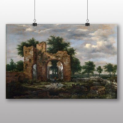 Big Box Art 'Landscape with Ruins' by Horatio McColluch Art Print