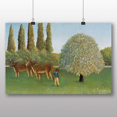 Big Box Art 'Meadowland' by Henri Rousseau Art Print