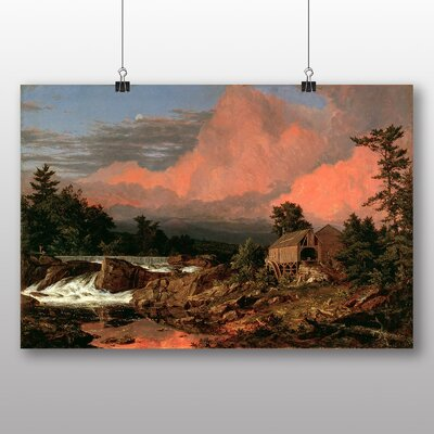 Big Box Art 'Rutland Falls' by Frederic Edwin Church Art Print