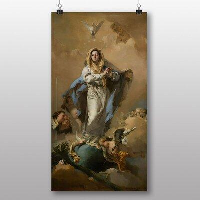 Big Box Art 'Immaculate Conception' by Giovanni Battista Tiepolo Art Print