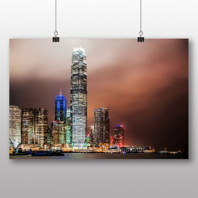 Big Box Art Hong Kong City Skyline China Photographic Print