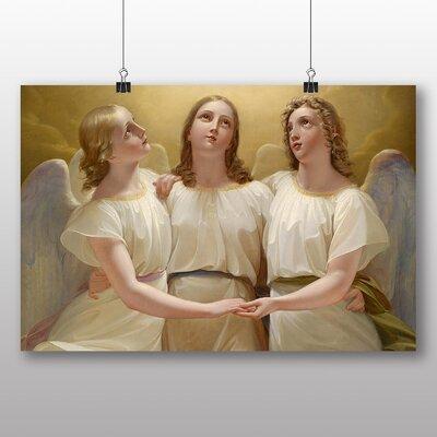 Big Box Art 'Three Angels' by Franz Kadlik Art Print