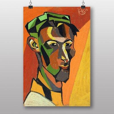 "Big Box Art ""Self Portrait"" by Henry Gaudier-Brzeska Art Print"