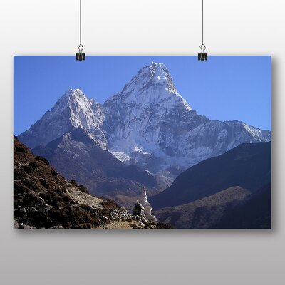 Big Box Art Himalayas Mountains Nepal No.1 Photographic Print on Canvas
