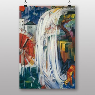 Big Box Art The Bewitched Mill by Franz Marc Graphic Art