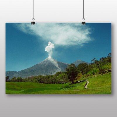 Big Box Art 'Guatemala Volcano' Photographic Print