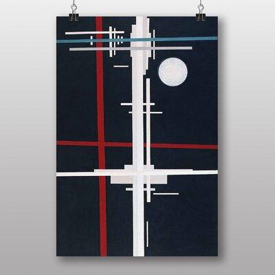 "Big Box Art ""Composition No.2"" by Ilya Chashnik Graphic Art"