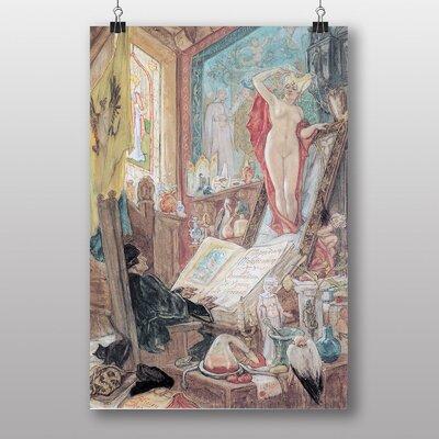 Big Box Art Incantation by Felicien Rops Art Print