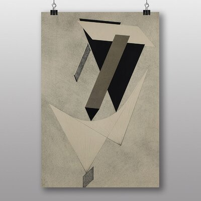 "Big Box Art ""Abstract No.2"" by El Lissitzky Art Print"