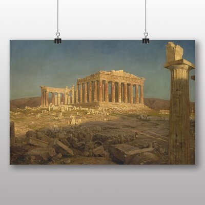 Big Box Art 'Parthenon' by Frederic Edwin Church Art Print