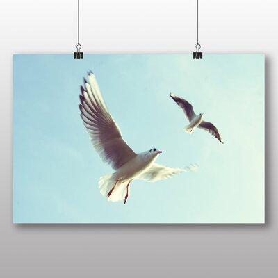 Big Box Art Gulls Photographic Print on Canvas
