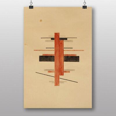 "Big Box Art ""Composition"" by Ilya Chashnik Art Print"