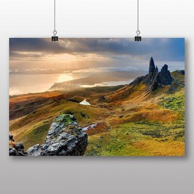 Big Box Art Isle of Skye Scotland No.2 Photographic Print on Canvas