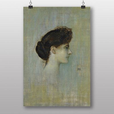"Big Box Art ""Female Portrait No.2"" by Franz Stuck Art Print"