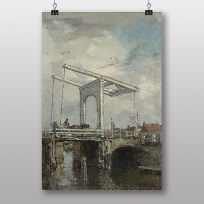 Big Box Art The Bridge by Jacob Maris Art Print