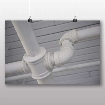 Big Box Art 'Industrial Pipes' Photographic Print