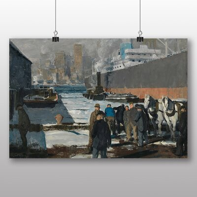Big Box Art 'Men of the Docks' by George Bellows Art Print