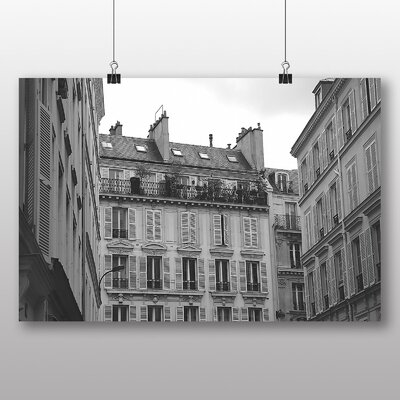 Big Box Art 'French Building' Photographic Print