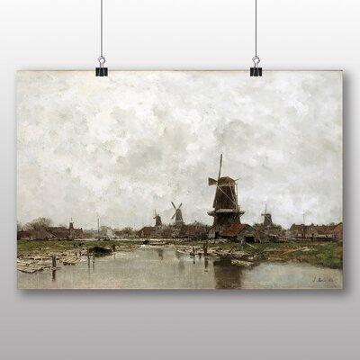 Big Box Art 'The Five Windmills' by Jacob Maris Art Print