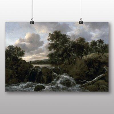 Big Box Art 'Landscape No.5' by Jacob Ruisdael Art Print