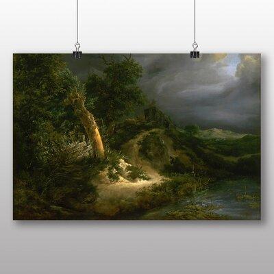 Big Box Art Landscape No.6' by Jacob Ruisdael Art Print
