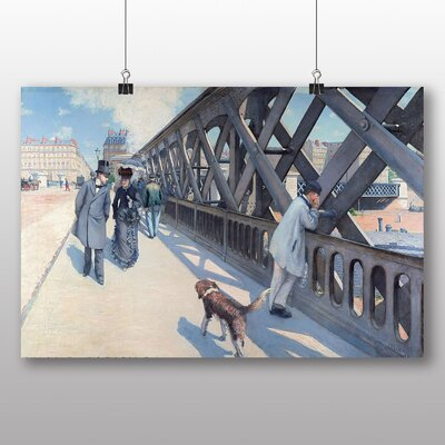 Big Box Art 'The Japan Times' by Gustave Caillebotte Art Print