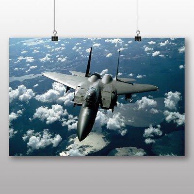 Big Box Art Fighter Jet No.5 Photographic Print