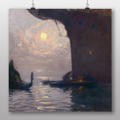 Big Box Art 'Venice Gondola' by Gaston La Touche Art Print