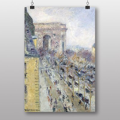 Big Box Art The Place De Letoile No.2 by Gustave Loiseau Art Print