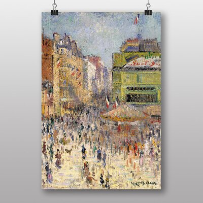 Big Box Art Paris on 14th July by Gustave Loiseau Art Print