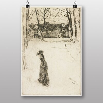 Big Box Art Lady in the Street by James McNeill Whistler Art Print