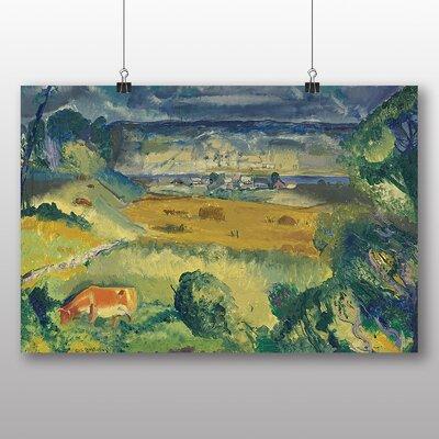 Big Box Art 'Harvest Landscape' by George Bellows Art Print