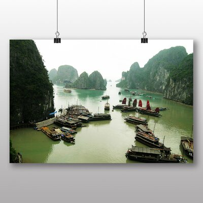 Big Box Art Halong Bay Vietnam No.3 Photographic Print Wrapped on Canvas