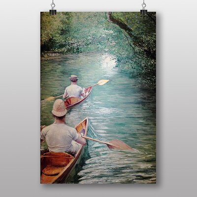 """Big Box Art """"The Life"""" by Gustave Caillebotte Art Print"""