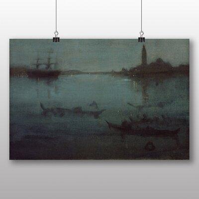Big Box Art 'The Lagoon Venice' by James McNeill Whistler Art Print