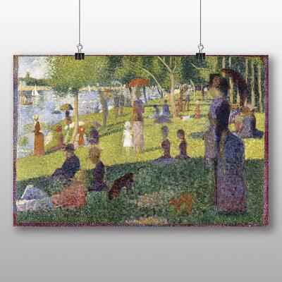 Big Box Art 'Sunday on La Grande Jatte' by Georges Pierre Seurat Art Print