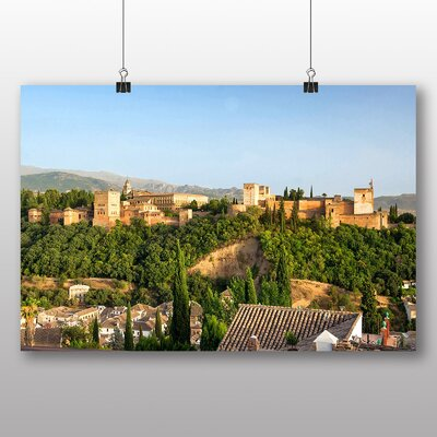 Big Box Art Granada Andalusia Spain No.3 Photographic Print on Canvas