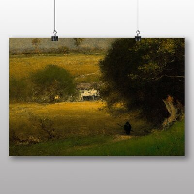 Big Box Art 'Landscape No.3' by George Innes Art Print