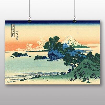 "Big Box Art ""Japanese Oriental Shichiri Beach"" by Hokusai Art Print"