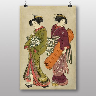 Big Box Art Geisha Japanese Oriental Art Print