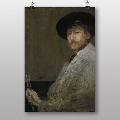 Big Box Art Self Portrait by James McNeill Whistler Art Print