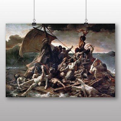 Big Box Art 'The Raft of the Medusa' by Gericault Theodore Art Print