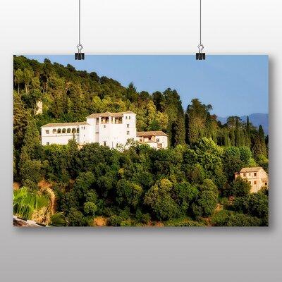 Big Box Art Generalife Palace Granada Andalusia Spain Photographic Print on Canvas