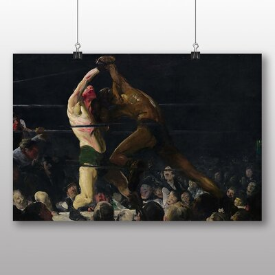 Big Box Art 'boxing Match' by George Bellows Art Print