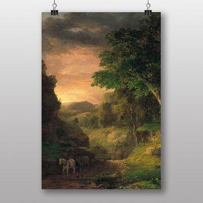 "Big Box Art ""In the Berkshires"" by George Innes Art Print"