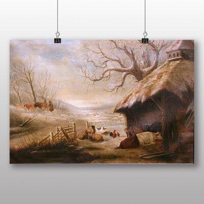 Big Box Art 'Farm' by Jasper Francis Cropsey Art Print