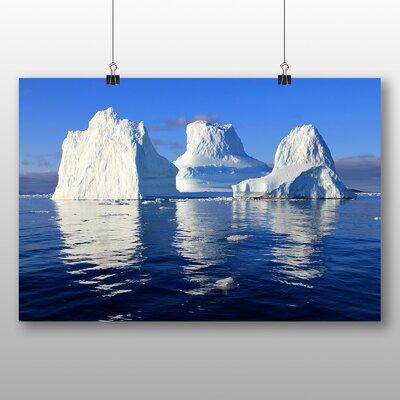 Big Box Art Icebergs No.2 Photographic Print Wrapped on Canvas