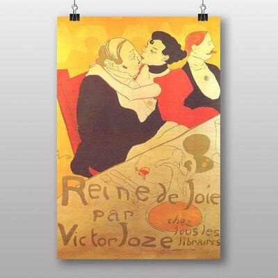 Big Box Art Queen of Joy by Henri de Toulouse-Lautrec Art Print
