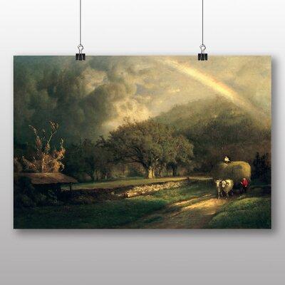 Big Box Art 'The Rainbow in the Berkshire Hills' by George Innes Art Print